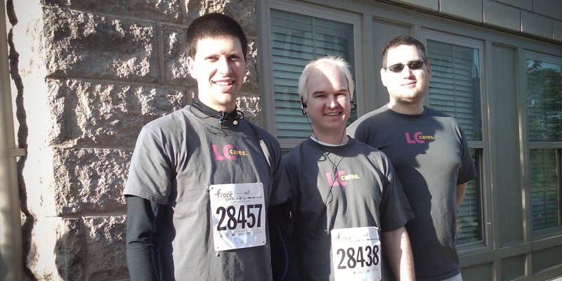 LC Cares Racing for the Cure | Lifestyle Communities