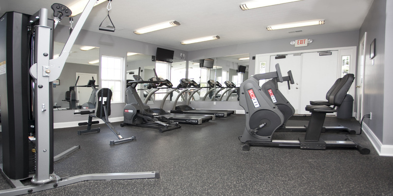 Fitness Center | LC Sunbury Mills Apartments