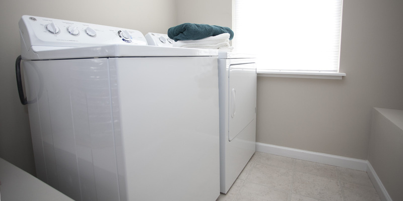 Bentley Flat Washer & Dryer |  | The Mill at Georgetown Apartments in Kentucky